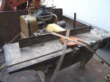 "12"" American (pre Yates-American) jointer is old but runs great."